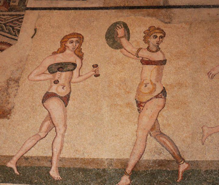 arte villa romana