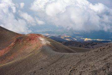 etna, incantevole vulcano